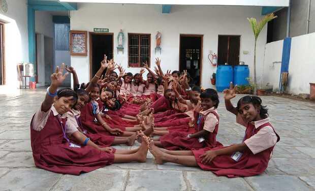 Visuel du projet Des chèvres pour l'orphelinat d'AID India