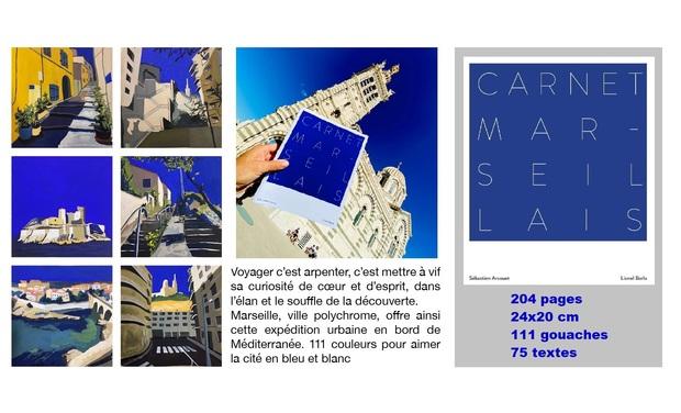Visuel du projet Carnet marseillais - 2ème impression