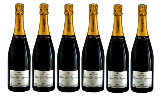Visueel van project Bouteille de champagne 1873 ,votre nom en dorure, un beau cadeau pour Noêl ;)