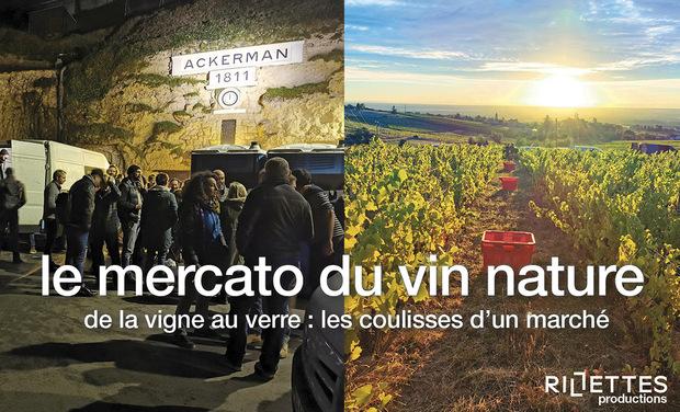 Visueel van project LE MERCATO DU VIN NATURE, de la vigne au verre : les coulisses d'un marché