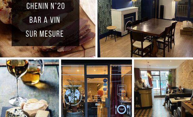 Project visual CHENIN N°20 : Le 1er bar à vin naturel sur mesure de France