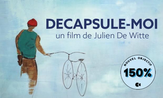 Project visual Décapsule-moi (court métrage de Julien Dewitte)