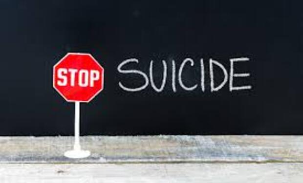 Project visual Stop Suicide.