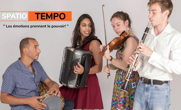 Visuel du projet SPATIO TEMPO : BANDE SON POUR SPECTACLE ENFANTS