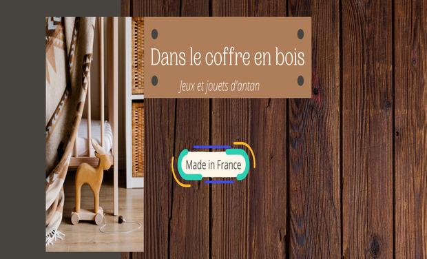 Visuel du projet Jeux et jouets d'antan- Made in France