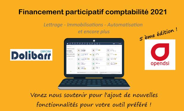 Project visual Dolibarr - Evolution module comptabilité - 5ème édition