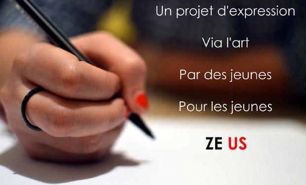 Visuel du projet Ze Us - Favoriser l'expression des jeunes via l'art