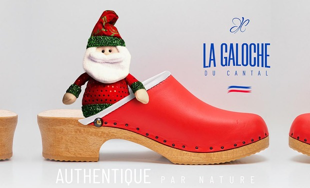 Visuel du projet La Galoche de Noël solidaire  avec l'association Coucou nous voilou
