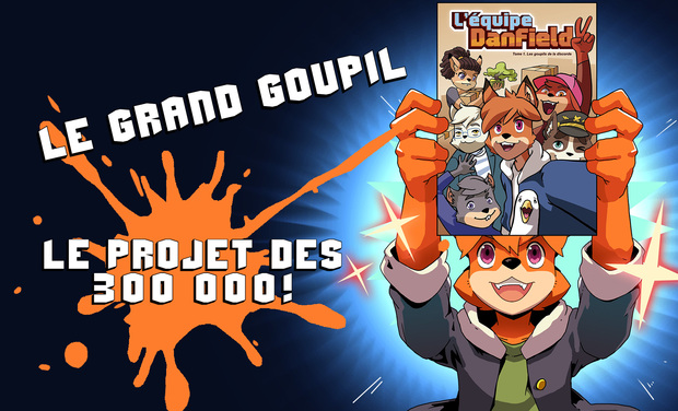 Project visual Le Grand Goupil de Dan Field
