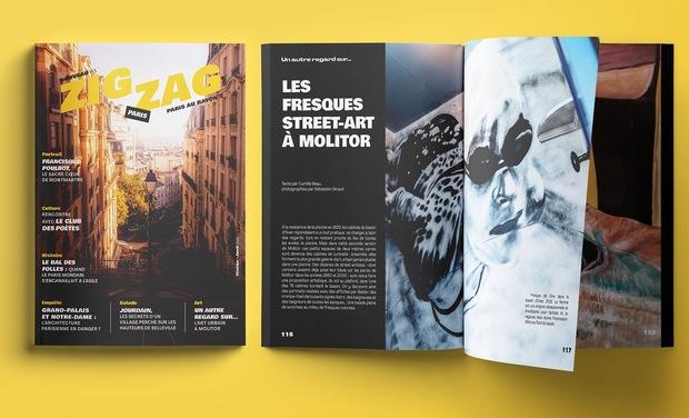 Visuel du projet Zigzag le Mag !