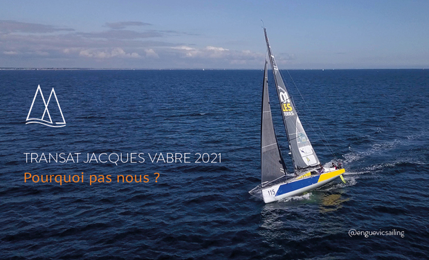 Project visual Transat Jacques Vabre 2021 - Why it wouldn't be us? ?