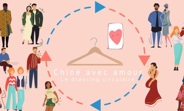 Visuel du projet Chiné avec amour - marketplace vintage