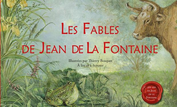 Project visual Les Fables de Jean de La Fontaine