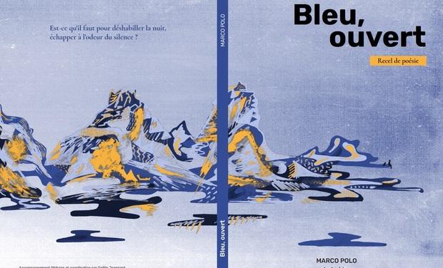 """Project visual """"Bleu, ouvert"""", recel de poésie - Marco Polo"""