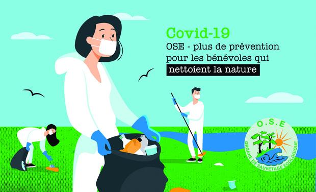 Visuel du projet OSE - Plus de prévention pour les bénévoles qui nettoient la nature