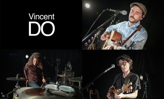 Visuel du projet 1er Album + clip Vincent DO - Jongle avec les Mots