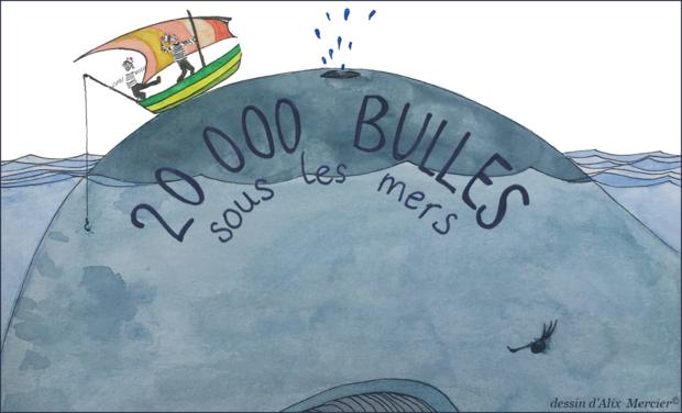 Project visual 20 000 bulles sous les mers (développement du spectacle)