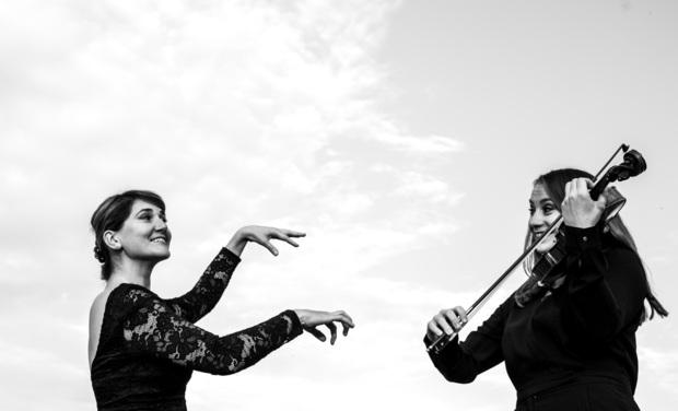 Project visual Enregistrement du CD du Duo Alma autour des femmes compositrices