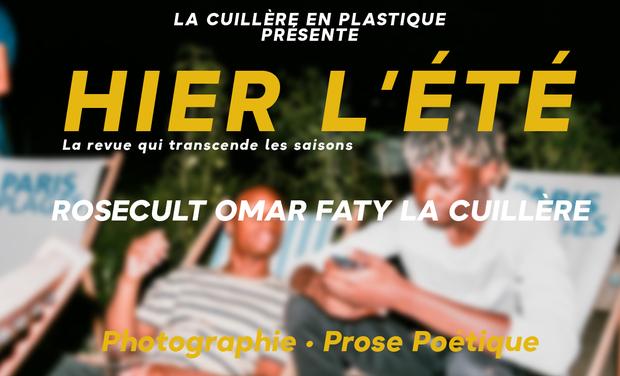Project visual Hier, l'été : numéro 00 de la revue de La Cuillère en Plastique