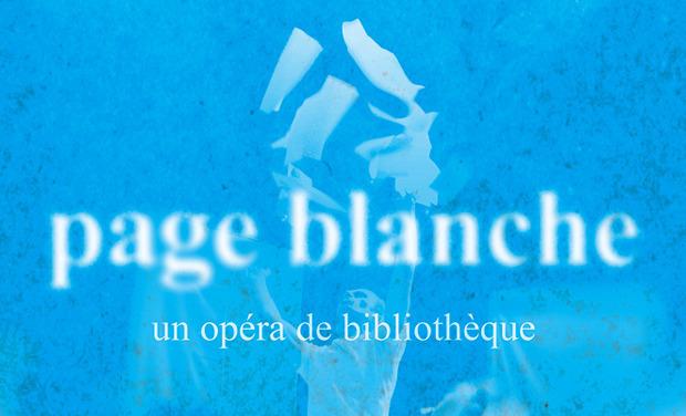 """Visuel du projet Colorez notre opéra """"Page Blanche"""" !"""
