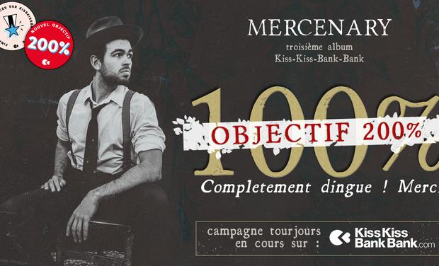 "Project visual Louis Mezzasoma : nouvel album ""Mercenary"""