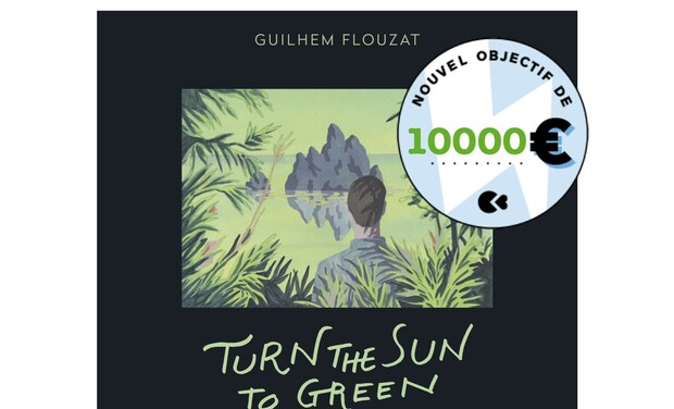 Project visual Turn The Sun To Green, 4e disque du batteur Guilhem Flouzat