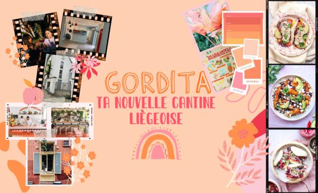 Project visual GORDITA, ta nouvelle cantine liégeoise