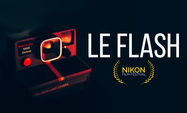 Visuel du projet FLASH - Court métrage (Nikon Film Festival)