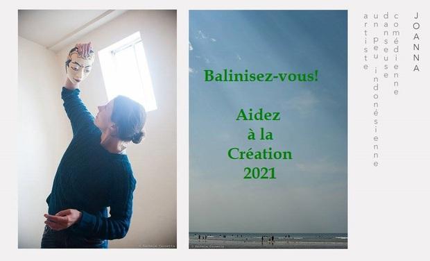 Project visual Balinisez-vous! Collecte pour la Création 2021