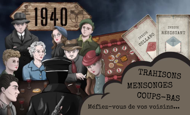 Project visual 1940 - le jeu