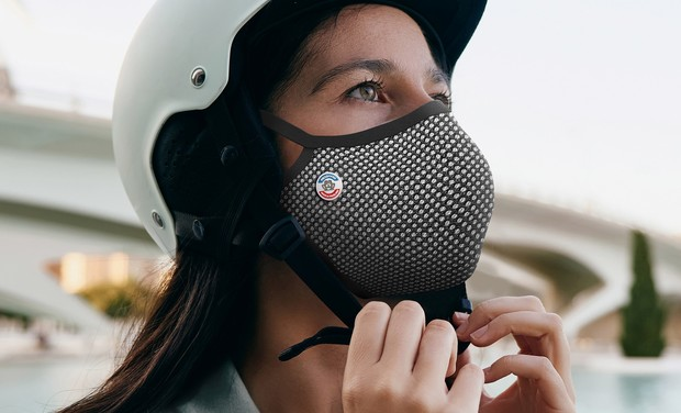 Visueel van project FROGMASK: Masques anti-pollution pour les déplacements urbains