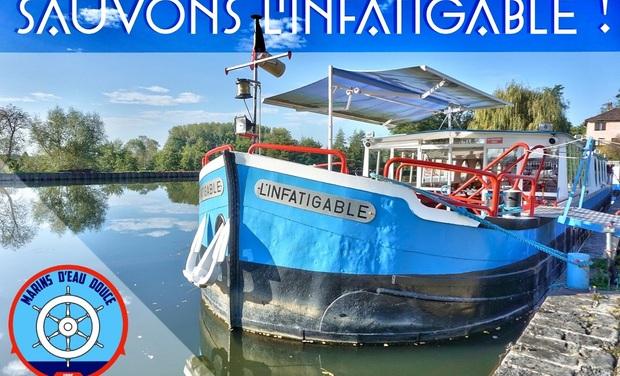 Visuel du projet SAUVONS LA PENICHE L'INFATIGABLE - BRIENNON (LOIRE 42) !