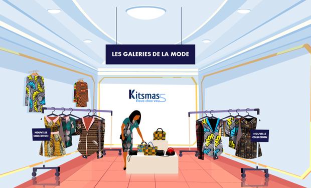 """Visuel du projet """"Les Galeries Solidaires de la mode"""" pour les jeunes créatrices du Bénin"""