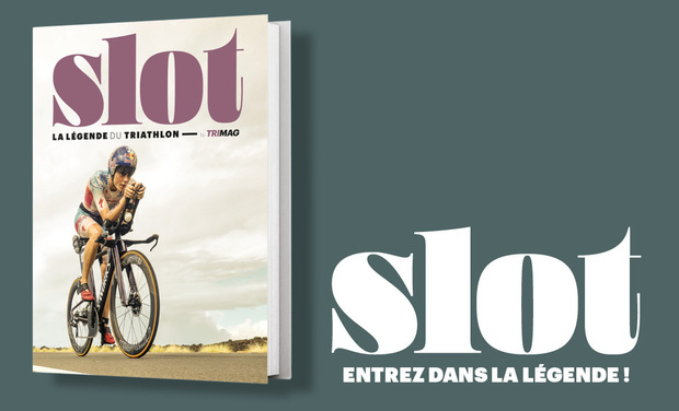 Project visual Slot, la légende du triathlon