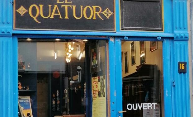 Visuel du projet Soutenez LE QUATUOR Librairie Musicale Européenne