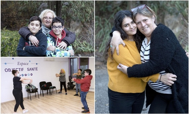 Project visual L'Obésité : ensemble en famille, un parcours gagnant