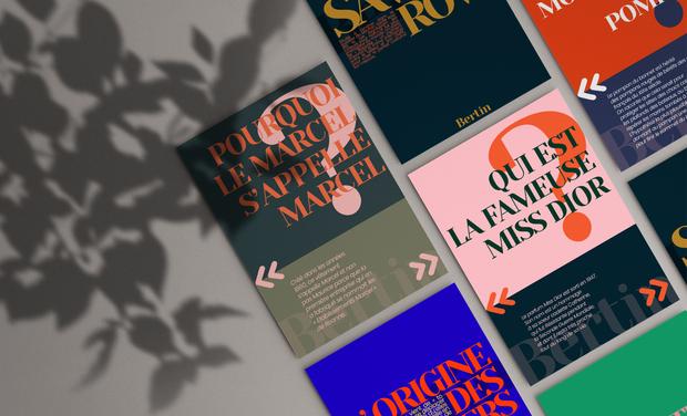 Visuel du projet Les anecdotes de mode du Magazine Bertin