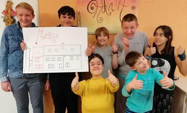 Visuel du projet extension d'un foyer pour jeunes: les Anémones
