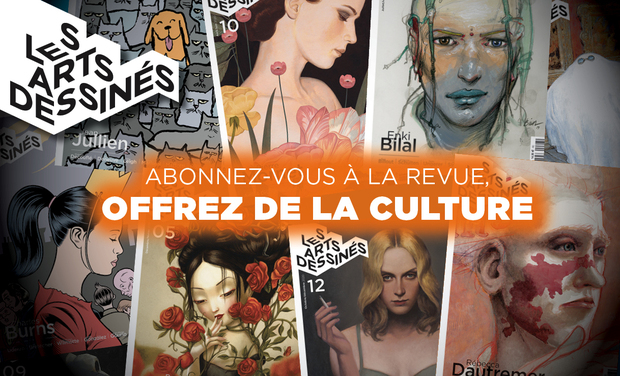 Project visual Les Arts dessinés : Abonnez-vous et offrez de la culture