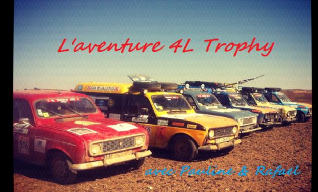 Visuel du projet 4L trophy: Le Sourire du Désert