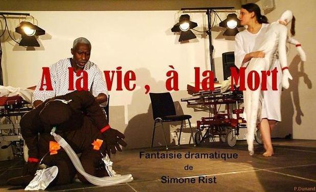 """Visueel van project  """"A la vie, à la mort"""", à Avignon Off 2014"""