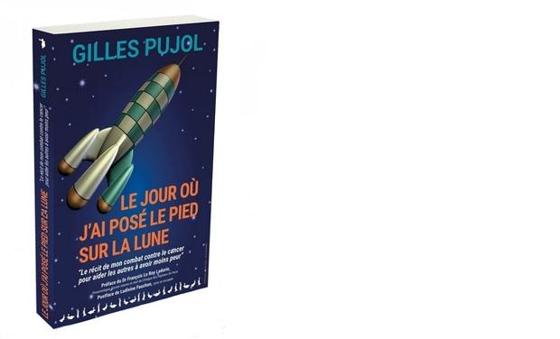 """Visueel van project """"LE JOUR OU J'AI POSE LE PIED SUR LA LUNE"""", Un récit de Gilles PUJOL"""