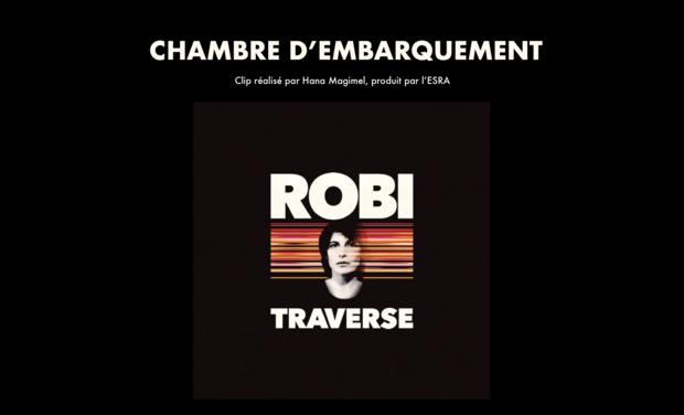 """Visuel du projet Clip musical: """"Chambre d'embarquement"""" de ROBI"""