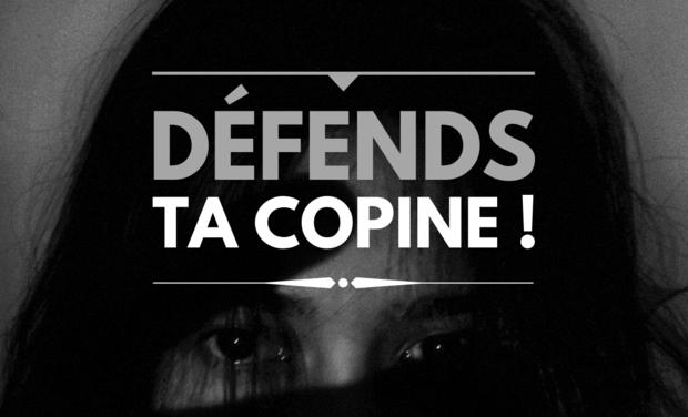 Project visual Livre - Défends ta copine !