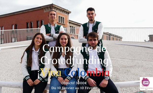 Visuel du projet Mission humanitaire en Colombie - BDH EM Strasbourg