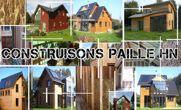 Project visual Construisons Paille Haute-Normandie