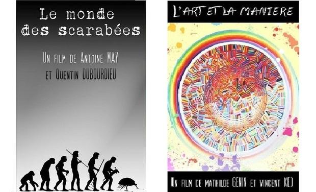 Visuel du projet Courts-métrages L'ART ET LA MANIÈRE et LE MONDE DES SCARABÉES
