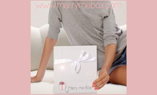 Project visual Marry Me Box