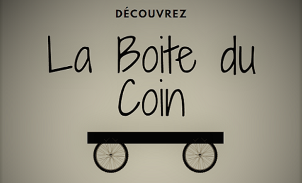Project visual La Boite Du Coin