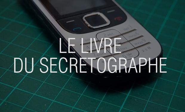 Visueel van project Le Secretographe, livre d'illustration d'un projet participatif